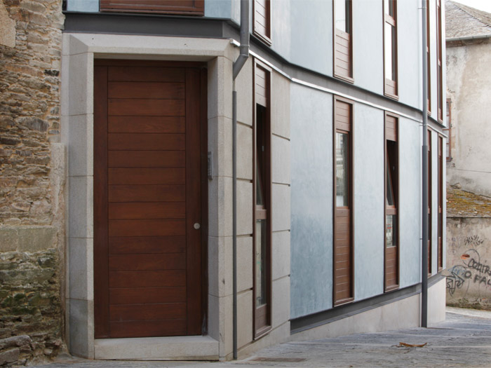 Edificio de viviendas en Lugo